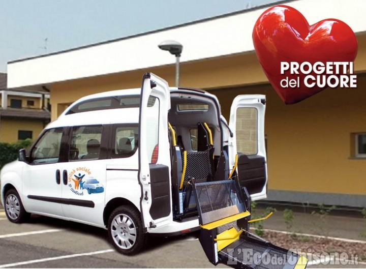 """""""Progetti del Cuore"""" in Via Lattea: all'Associazione Free Whiteun mezzo attrezzato per persone disabili"""