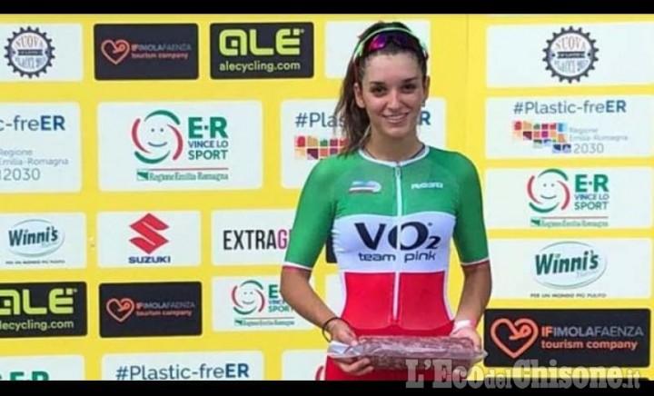 Ciclismo, per Eleonora Gasparrini ripartenza da bolide a Imola