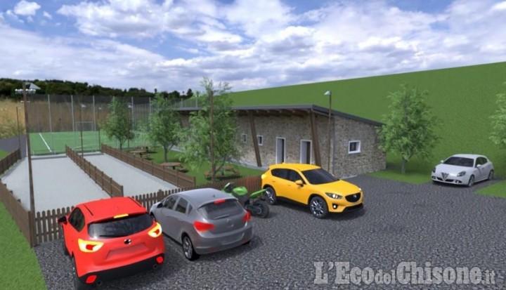 Usseux: 912.000 euro per un'area sportiva polivalente e due rotonde a Pourrieres