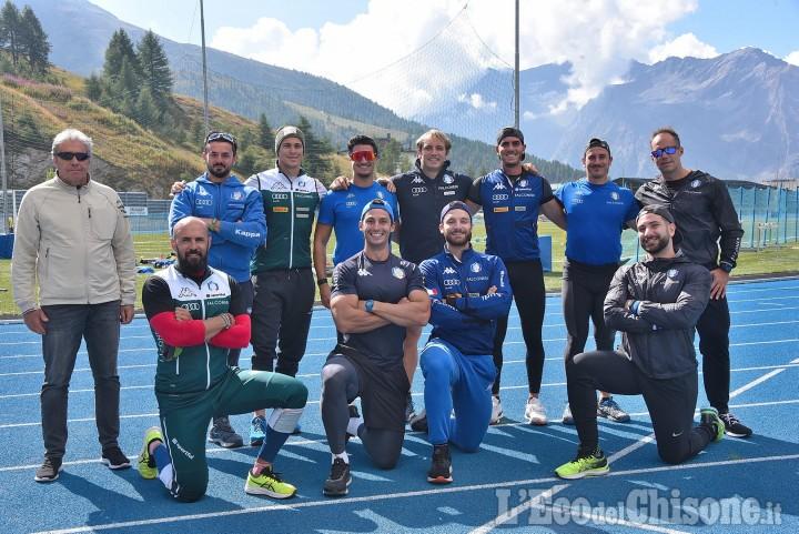 """Sestriere: """"Una montagna di sport"""" con gli atleti del Bob in preparazione di Pechino 2022"""