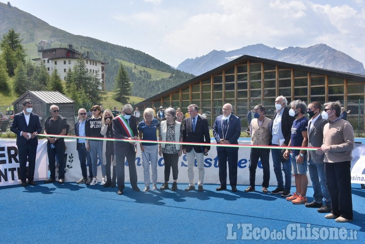 Sestriere: inaugurata la pista di altetica, atteso il Gen. Figliuolo, commissario Covid, per la mostra sulle Olimpiadi