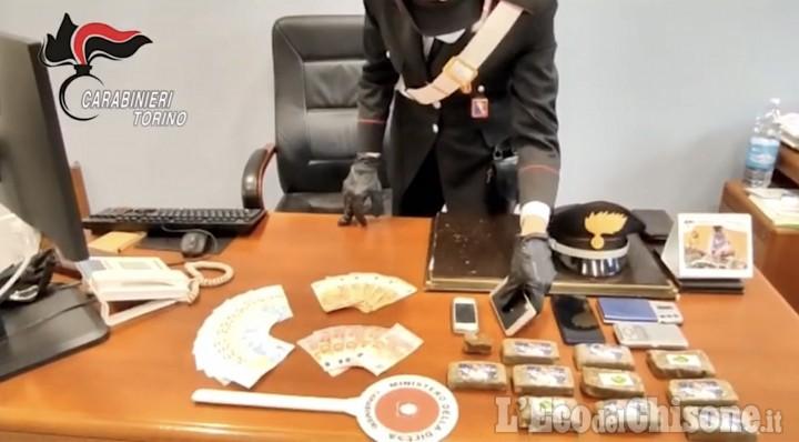 Nichelino: in garage aveva oltre un chilo di hashish, arrestato 40enne