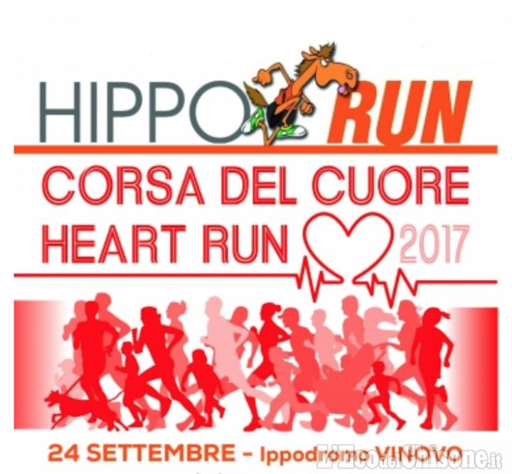 Giornata mondiale del cuore: all'Ippodromo di Vinovo La Corsa del Cuore