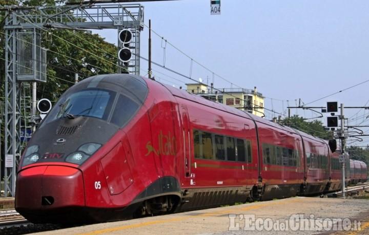 Da dicembre Italo farà capolinea a Torino Porta Nuova