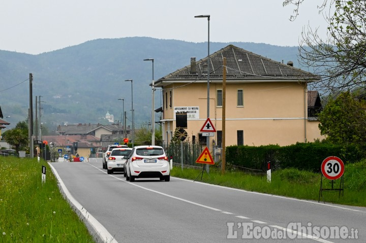 """Sp. 166 """"della Val Chisone""""chiusa a Inverso Pinasca dal 3 all'8 maggio"""