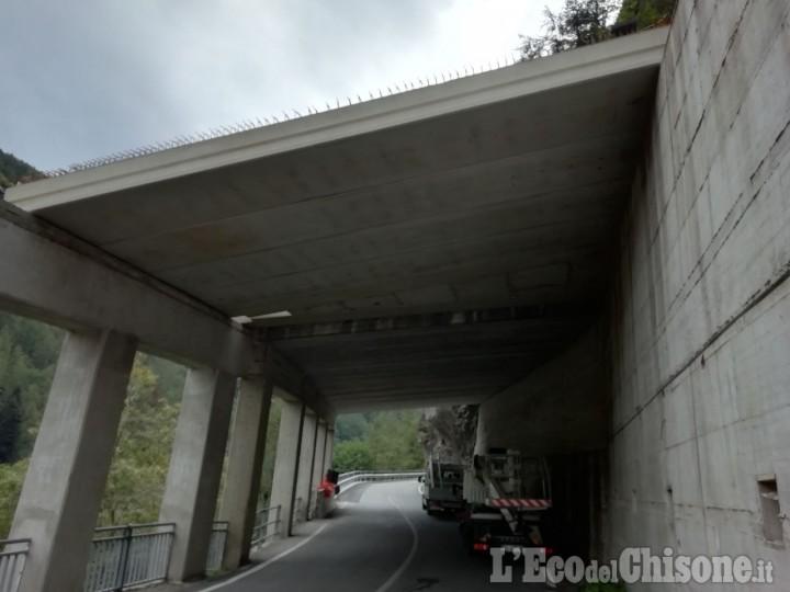Strada provinciale169 della Val Germanasca: chiusura al paravalanghe il 25 e 26 novembre