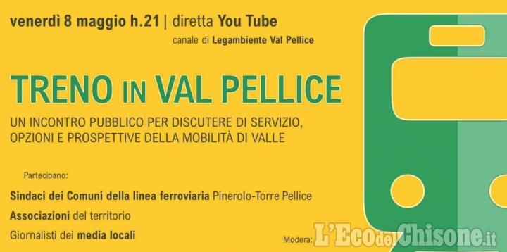 Linea Ferroviaria Pinerolo-Torre Pellice: dibattito in diretta stasera su Youtube
