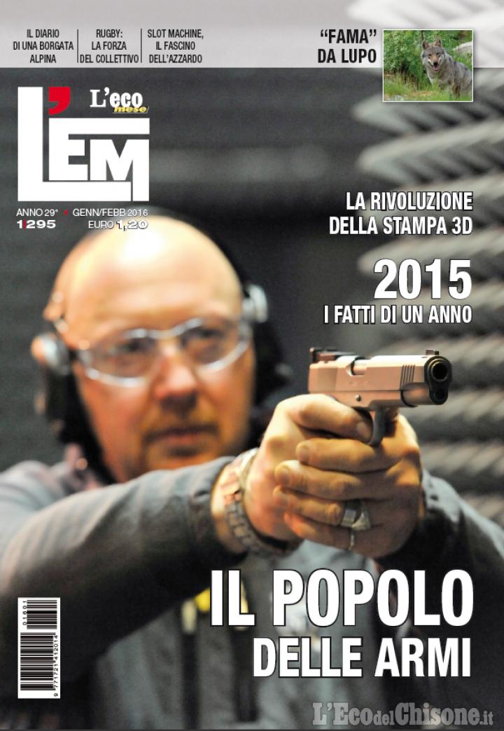 """""""L'Eco Mese-L'Em"""": in edicola il numero di gennaio-febbraio 2016"""