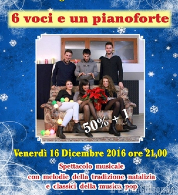 """Venerdì sera di teatro e musica al """"Pellico"""" di Bagnolo"""