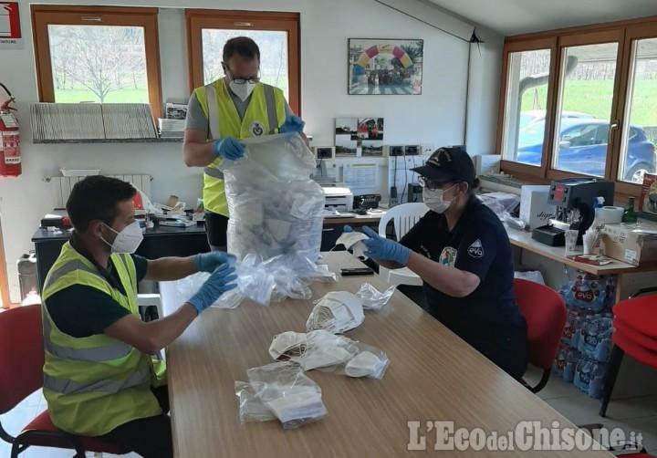Valle Po: 3.500 mascherine donate alla popolazione
