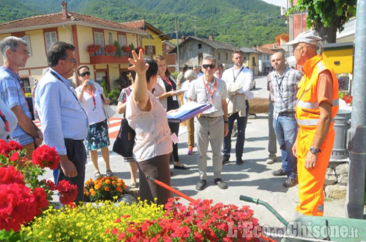 Pomaretto: impressioni positive dalla giuria di Entente Florale Europe