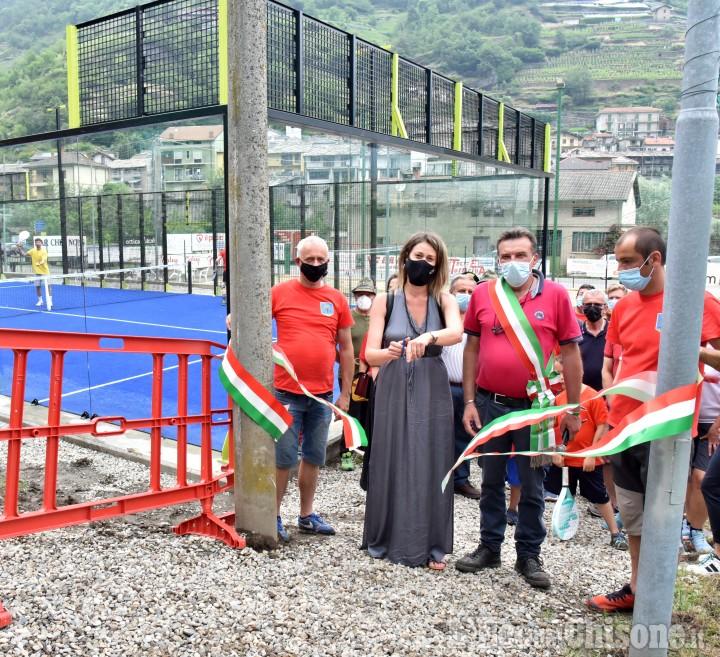 Pomaretto: inaugurati i nuovi impianti sportivi con padel, beach volley e calcio a sei