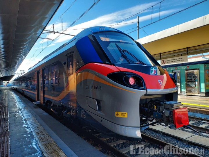 Primi nuovi treni sulla Chivasso-Pinerolo