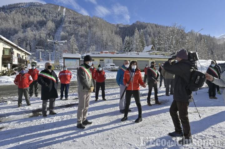 Mancata apertura sci, Ventre: «Solidarietà al Comune di Prali e a tutti i lavoratori del turismo montano»