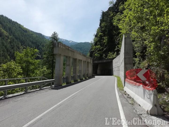 Val Germanasca: al via i lavori sulla Sp. 169 (semaforo dall'8 giugno) e alla Strada del Colletto a Salza