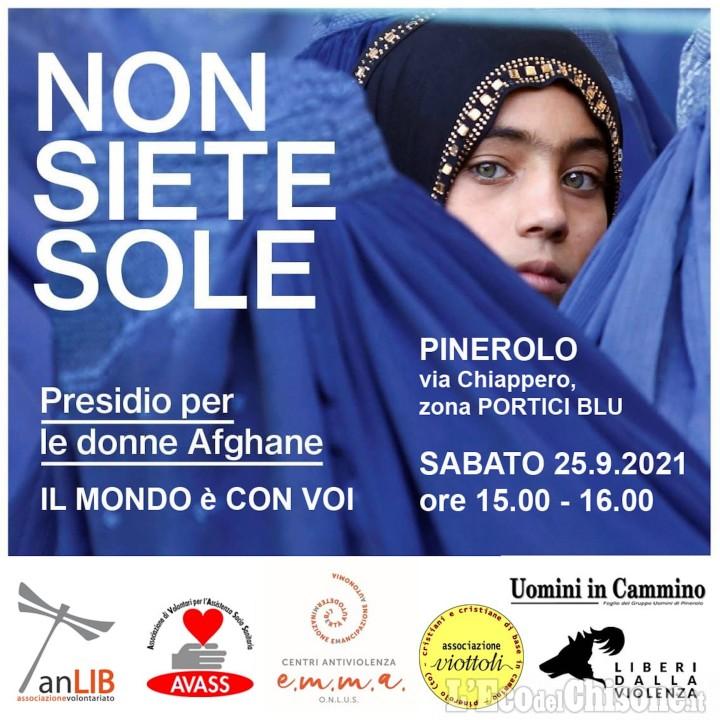 A Pinerolo sabato 25 un presidio per le donne afghane
