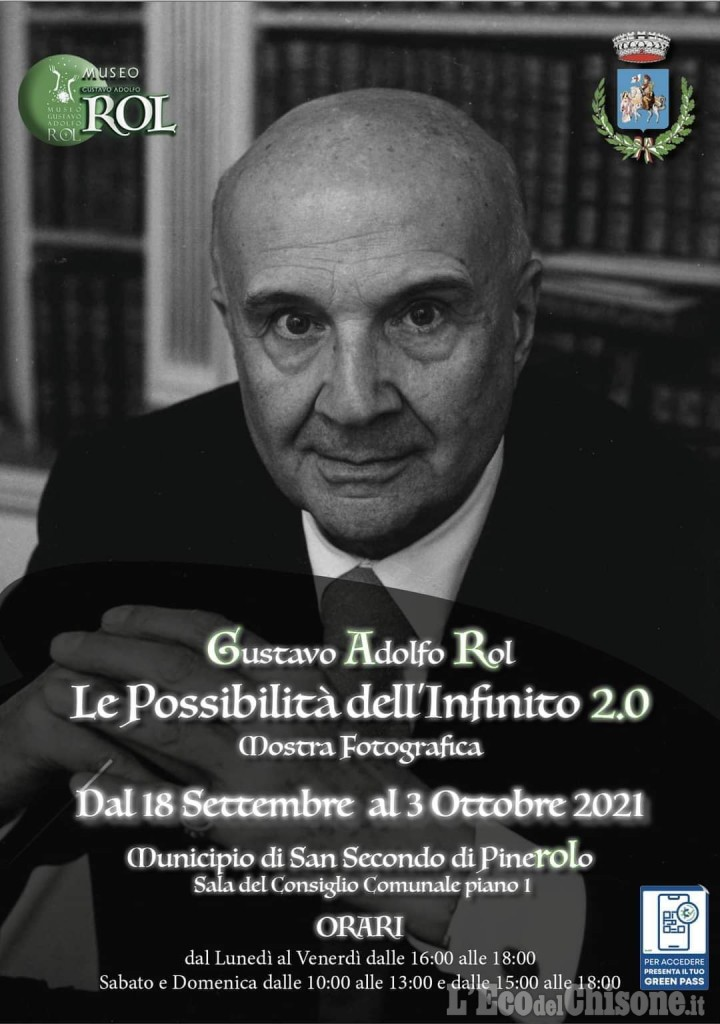 A San Secondo inaugura sabato 18 una mostra dedicata a Gustavo Adolfo Rol