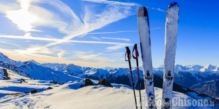 Riapertura impianti di sci in Piemonte dal 15 febbraio con capienza al 30%