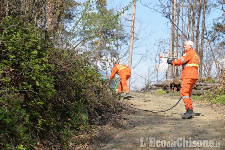 Rischio incendi: dal 26 marzo stato di massima pericolosità su tutta la Regione Piemonte