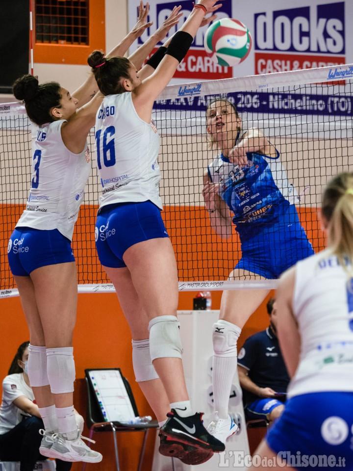 Volley A2 donne, attesa per il Pinerolo semifinalista mercoledì 18 in gara 1 a Ravenna