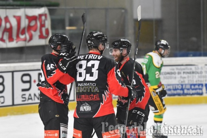 Hockey ghiaccio Ihl, Valpeagle spietata: primo acuto in trasferta ad Ora