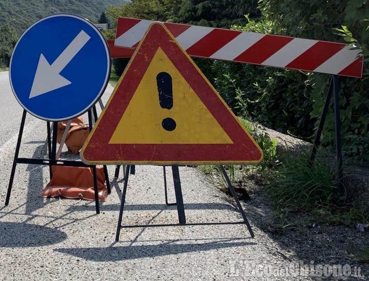 Prali: strada chiusa al traffico dal 9 all'11 settembre per i lavori al paravalanghe. Scopri gli orari