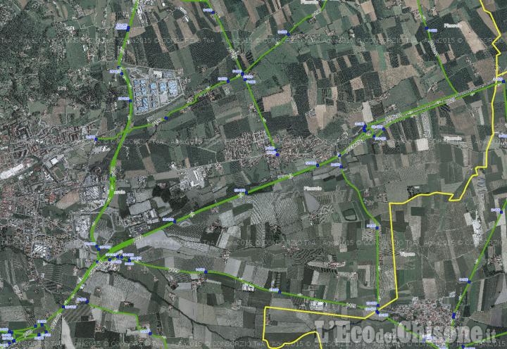 Mercoledì 26 chiusura del tratto di Riva della Circonvallazione di Pinerolo (Sp 23) direzione Torino