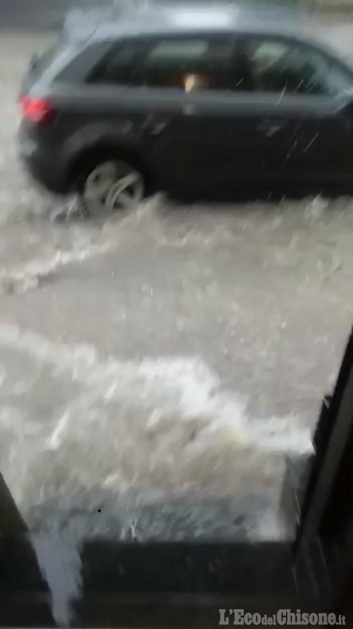 Airasca, si contano i danni della bomba d'acqua