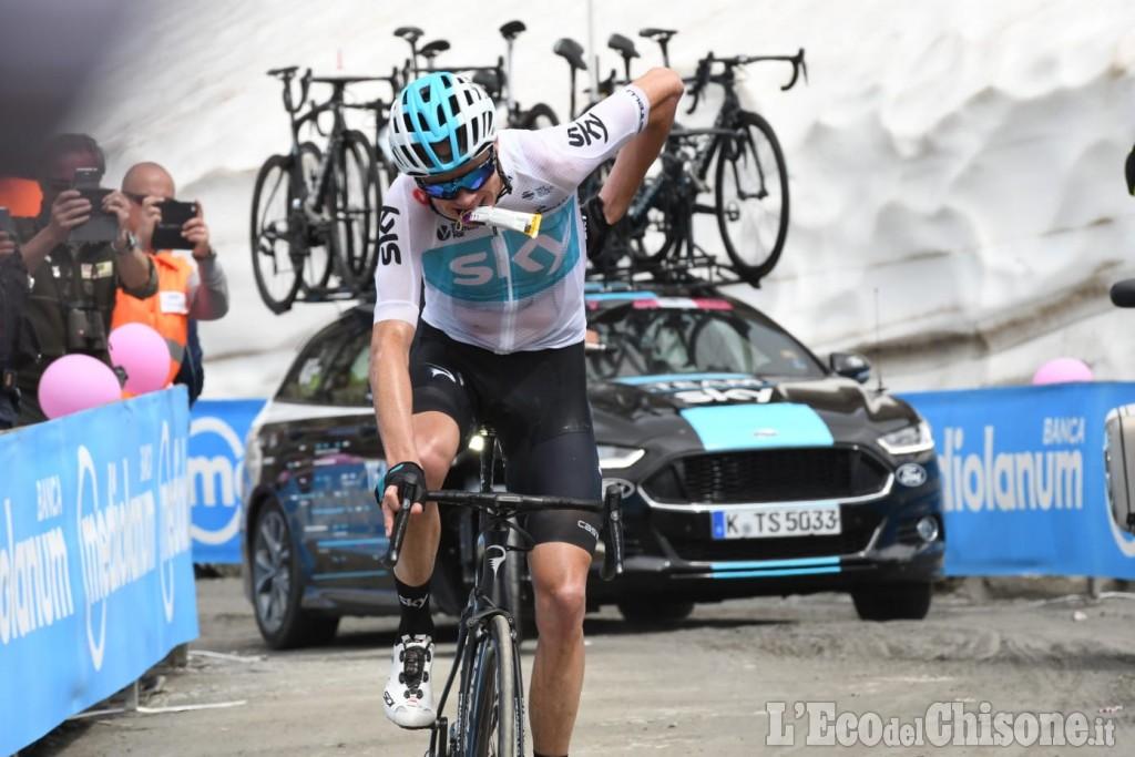 Giro d'Italia, Froome, impresa d'altri tempi: è la sua rivincita