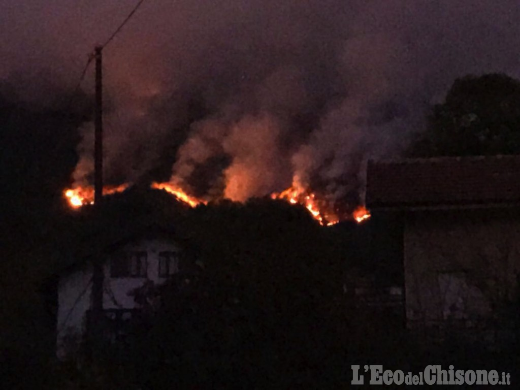 Morto durante incendio Cantalupa, cercava di salvare il proprio terreno