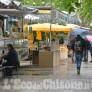 Foto Gallery: Pinerolo: Fiera di Aprile sotto la pioggia