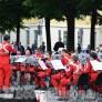 Foto Gallery: Pinerolo:La Fanfara della Croce rossa in piazza