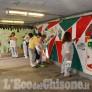Foto Gallery: Pinerolo l'Associazione Fidapa restaura il sottopassaggio