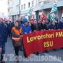 Foto Gallery: Il Pinerolese che non si arrende sfila coni lavoratori della PMT