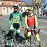 Foto Gallery: Frossasco sopralluogo con i ciclisti Jacopo Mosca, professionista , e Umberto Marengo,