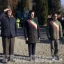 Foto Gallery: Villafranca: Artiglieri, saluto al monumento