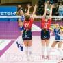 Foto Gallery: Volley, In Coppa Italia il derby piemontese di A2 donne: Pinerolo lotta con il forte Mondovì che passa il turno