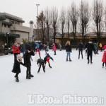 Foto Gallery: Vinovo: tutti a pattinare nella zona pedonale
