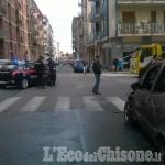 Foto Gallery: Auto a fuoco a Pinerolo