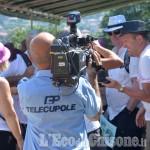 """Foto Gallery: Pomaretto: Telecupole alla """"mangia e cammina"""" con 700 partecipanti"""