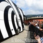 Foto Gallery: Entusiasmo dei 5000 in Valchisone, azioni di gioco e caccia all'autografo