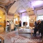 Foto Gallery: Pinerolo,  Caffè del Teatro, luci e mercatini