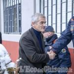 Foto Gallery: Chiamparino sui luoghi dell'alluvione, incontro con i parenti di Sergio Biamino