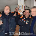 Foto Gallery: Sergio Chiamparino alla sede Aib di Cumiana