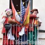 Foto Gallery: Pinerolo, folla attorno al Carnevale senza carri