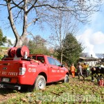 Foto Gallery: Angrogna, incendio in Borgata Pons