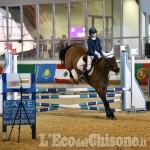 Foto Gallery: Pinerolo, cavalli a porte chiuse: pony in gara