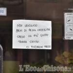 Foto Gallery: Effetto Coronavirus: dialoghi a distanza sui muri o sulle serrande abbassate