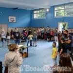 Foto Gallery: Perosa: ritorno in aula per l'ultimo giorno di scuola