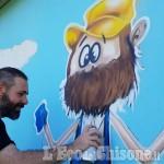 Foto Gallery: Castagnole: i murales di Piazza Ragazzabile